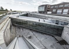 Completed in 2013 in Helsingor, Denmark. Images by Thijs Wolzak, Luca Santiago Mora, Rasmus Hjortshõj. The Danish Maritime Museum had to find its place in a unique historic and spatial context; between one of Denmark's most important and famous. World Architecture Festival, Art And Architecture, Architecture Details, Museum Architecture, Helsingor, Big Architects, Maritime Museum, Design Museum, Interior Exterior