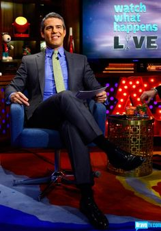 Watch what happens Live - love Andy Cohen!