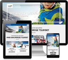 Just out the new site for Skiferie - VisitSweden. Cooperation between Resultify and Iseqqavoq!
