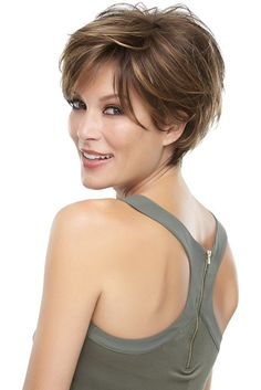 Mariska Petite by Jon Renau - this may be a good option now that I'm growing my hair out :)