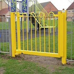 High Bow Pedestrian Gate - Playground Equipment http://www.fenlandleisure.co.uk/products/high-bow-pedestrian-gate/
