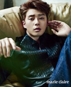 Park Seo Joon - Marie Claire Magazine July Issue '14