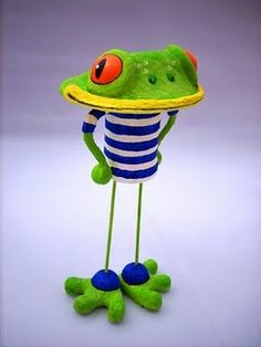 Picasso frog m