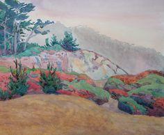 "Robin Purcell (Born 1956), ""Point Lobos Summer"""