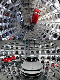 Autostadt  - @VW Factory in Germany