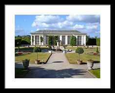 Cornwall Framed Print featuring the photograph The Orangery At Mount Edgecumbe by Steve Swindells