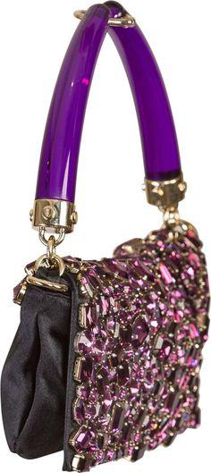 Tom Ford for Yves Saint Laurent Spring 2004 purple jeweled bag   1stdibs.com