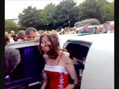 Getting out of the prom limo can be tricky. A nasty way to make your big entrance at prom