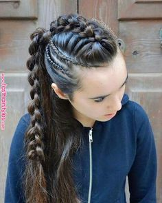 Pin by Gladys Avila on Beauty in 2019 « Fast Hairstyles braids Pin by Gladys Avila on Beauty in 2019 Fast Hairstyles, Box Braids Hairstyles, Pretty Hairstyles, Girl Hairstyles, Viking Hairstyles, Teenage Hairstyles, Unique Hairstyles, Curly Hair Styles, Natural Hair Styles