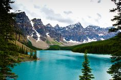 Moraine Lake (Banff National park, Alberta, Canada) | Thomas Trott (Campturing Adventure)