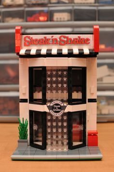 Custom City Fast Food Diner Restaurant Shakes by ABSDistributors, $120.00 Need to steal this idea!