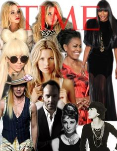 Time Magazine most influential fashion icons