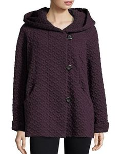 Gallery Quilted Jacket Women's Blackberry Small