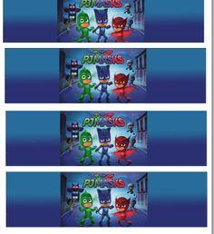 Scallop Topper PDF File HERE           PJ Masks Cupcake Toppers PDF File HERE         Banner HERE        Happy Birthday Banner PDF Fil...