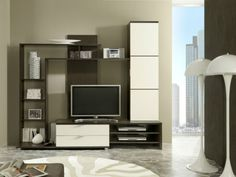 Gala-White-Gloss-Black-Brown-LCD-PLASMA-LED-Wall-TV-Entertainment-Unit-Cabinet