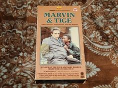 Marvin and Tige (VHS, 1985) Rare OOP 1st Embassy! John Cassavetes! *NOT ON DVD*