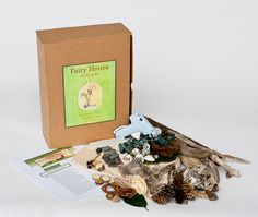 Fairy House Building Kit by Piedpipercrafts on Etsy, $44.98