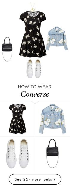 """Untitled #21933"" by explorer-14576312872 on Polyvore featuring London Road, Rebecca Taylor, Converse and Givenchy"