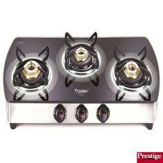 Prestige Schott Glass Top Gas Stoves Gtsm 03 Ss