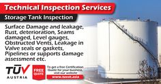 Storage Tank Inspection. No compromise on safety. For further queries : tuvat.asia/get-a-quote or call Pakistan: +92 (42) 111-284-284 | Bangladesh +880 (2) 8836404 to speak with a representative. #ISO #TUV #certification #inspection #pakistan #iso9001 #bangladesh #lahore #karachi #dhaka #contract #safety #storage #tank