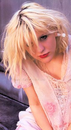 My main fashion idol, Courtney Love, with her kinderwhore look