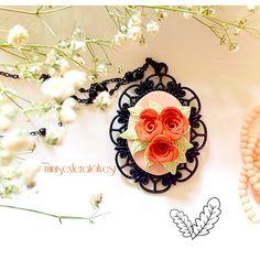 Polymer clay flower set