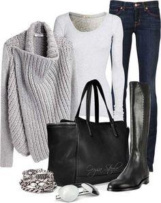 Kışlık Kıyafet Kombini