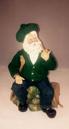 Clothtique Possible Dreams 1996 Irish Collectible Musical Santa - Danny Boy by UrbanVintageChic on Etsy