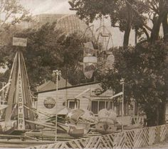 Amusement Park under the Skyway Bridge Hamilton Ontario Canada, Dundas Ontario, Site History, Burlington Ontario, Hamilton Beach, Old Photos, City, Amusement Parks, Scream