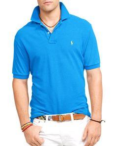 Polo Ralph Lauren Classic Mesh Polo Shirt - Regular Fit
