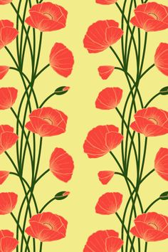 Pattern / Mom Loved Poppies :: COLOURlovers