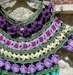 crochet pattern - scarf with swirl pattern | The World's Best Photos of eclecticgipsyland and flower - Flickr Hive ...