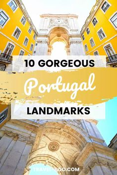 Planning a visit to gorgeous Portugal? Then don't miss out on these 10 incredible historic and famous Portuguese landmarks. Portugal Travel, Portugal Travel Guide, Portugal Travel Tips, Portugal Travel Lisbon, Portugal Travel Porto, Portugal, Portugal Travel Amazing Places, Portugal Travel Beautiful Places, Lisbon Travel Guide, Porto Travel Guide. #portugaltravel #lisbontravel #portotravel Portugal Vacation, Portugal Travel Guide, Europe Travel Guide, Spain Travel, Travel Guides, Travel Destinations, European Travel Tips, European Vacation, Beautiful Places To Travel