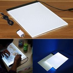 Tracing Light Box, A4 Led Ultra-Thin Usb Powered Art Lighting Tracing Drawing Box Copy Board For Artists Drawing Sketching Animation - Walmart.com