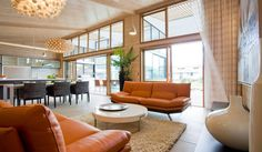Gullwing home by Lockwood Homes in New Zealand. Inside Outside, Painting On Wood, My Dream, The Outsiders, New Homes, Windows, Kingfisher, Furniture, Inspirational