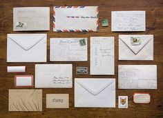 a month of mail by miniature.rhino, via Flickr