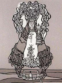 Obras de Cundo Bermúdez - Virgen de la Caridad del Cobre