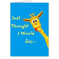 Little Boy Giraffe Birthday