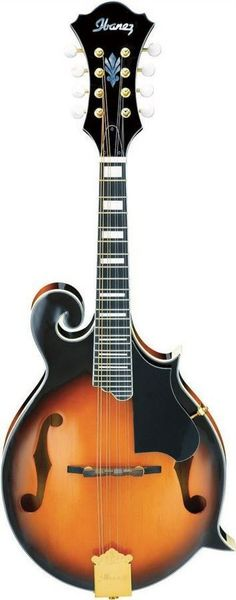 Ibanez M522SBS F-Style Acoustic Mandolin | Brown Sunburst Finish