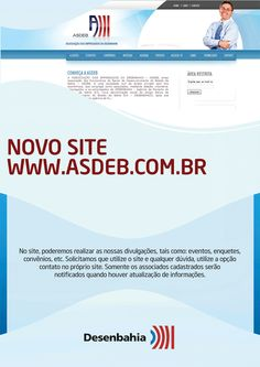 Novo site ASDEB