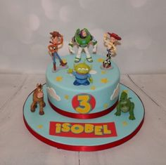Toy Story favourite characters - Toys for years old happy toys Toy Story 3, Bolo Toy Story, Toy Story Cakes, Toy Story Party, Toy Story Birthday Cake, 3rd Birthday Cakes, Birthday Bash, Birthday Parties, Birthday Ideas