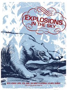 GigPosters.com - Explosions In The Sky - Lichens