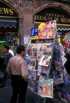 Kiosk .  Zocalo . Mexico City