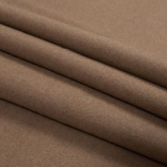 Beige and Tan Wool Double Cloth