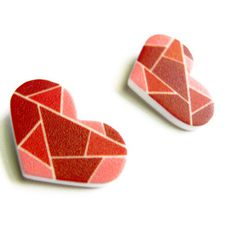 Little Love Earrings by COL*R theory $14.00 now featured on Fab.