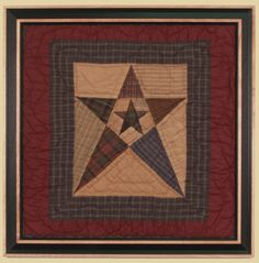 Primitive Star - Choice Quilts