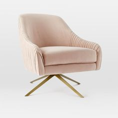Roar + Rabbit Swivel Chair | west elm