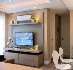 Simple And Effective Interior Home Design Solutions Living Room Tv Unit Designs, Living Room Sofa Design, Living Room Decor, Tv Wall Decor, Living Room Windows, Home Tv, Minimalist Home Decor, Tiny Spaces, Home Interior Design