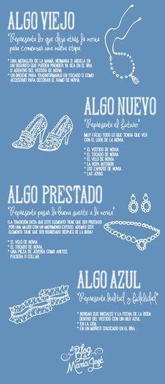 Algo nuevo, viejo, prestado y azul para la novia   El Blog De María José