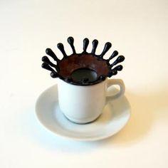 Coffee drop splash - biscuit chocolaté | via.fr